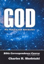 God: His Nature and Attributes