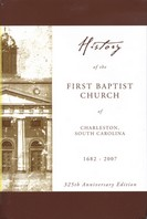 History of the First Baptist Church of Charleston, South Carolin